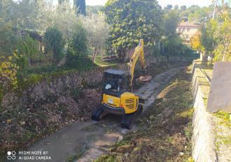Lavori di Manutenzione sul fosso di Stroncone in Comune di Terni - tratto Via Antonelli/Via Ferrer
