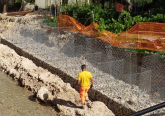 Proseguono i lavori sul Fosso di Stroncone in Comune di Terni